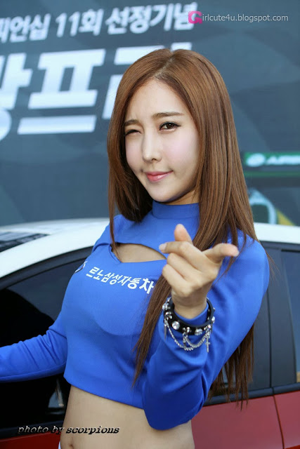 2 Im Min Young - Renault Samsung RC F1 Grand Prix 2013 - very cute asian girl - girlcute4u.blogspot.com