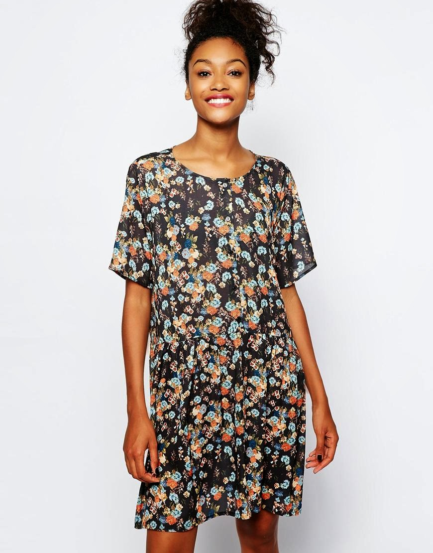 monki flower dress