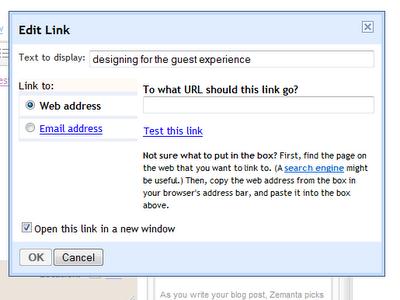 blogger link