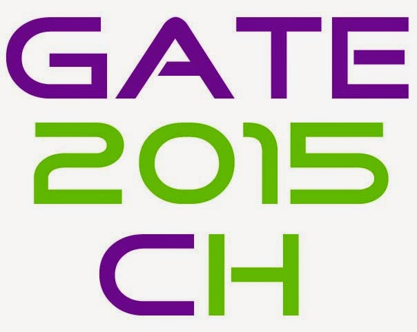 GATE 2015 chemical engineering by Chemieering.blogspot.com