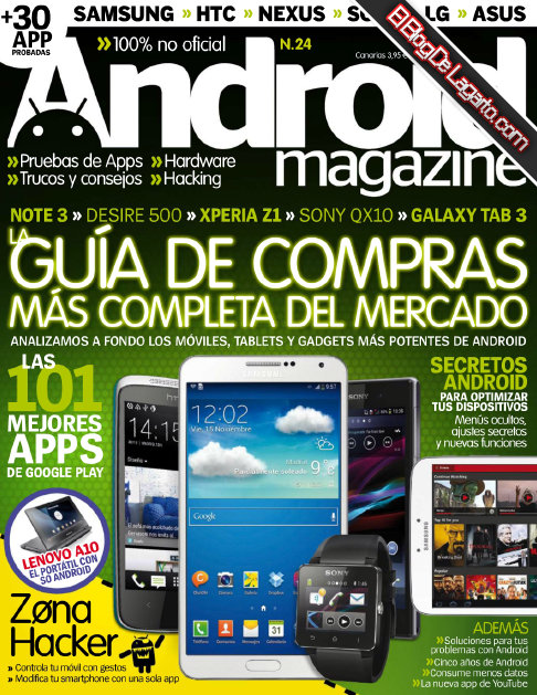 Android Magazine Diciembre 2013 PDF - La Guia De Compras Mas Completa
