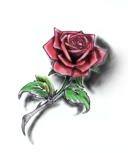 griffe tattoo só rosas para tatuagens feminina