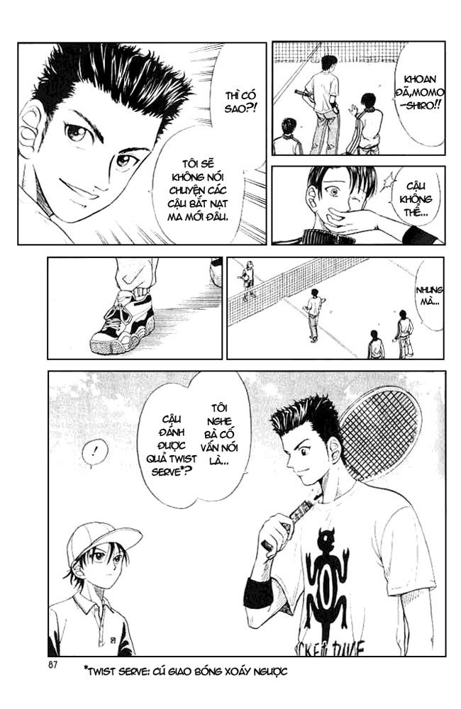 Prince of Tennis chap 3 Trang 4