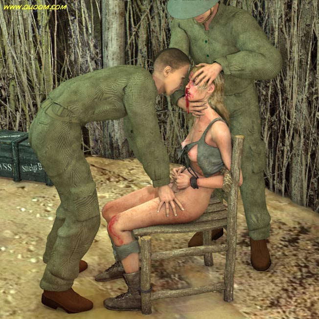naked women war prisoners