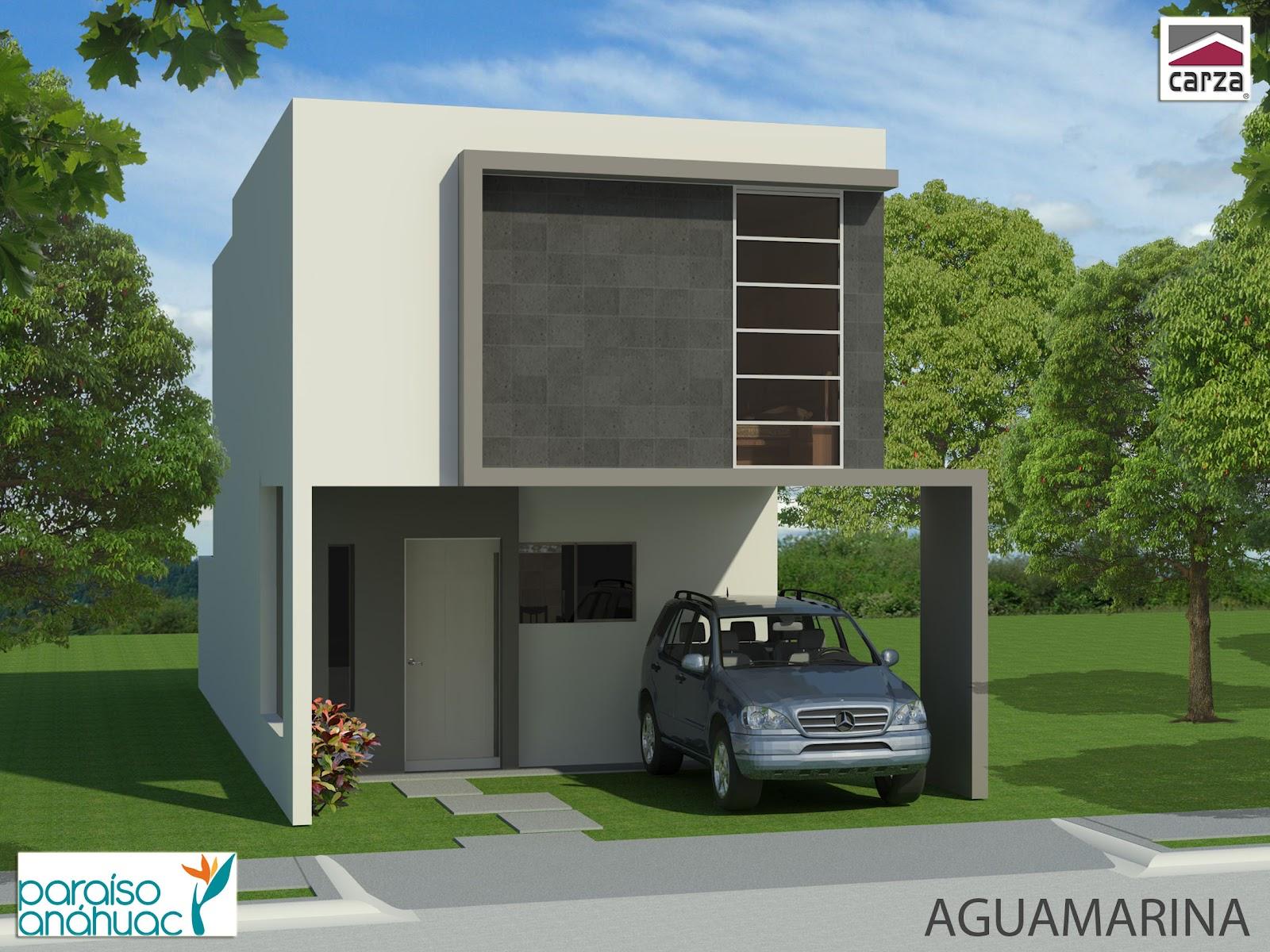 Fachadas contempor neas fachadas contempor neas de fracc for Fachadas de casas contemporaneas modernas