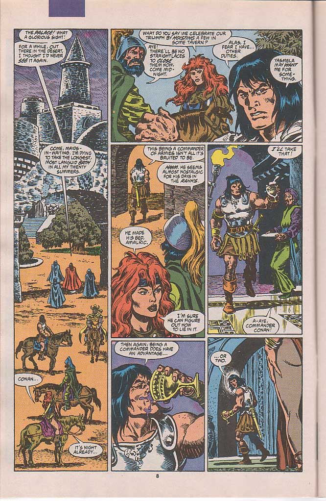 Conan the Barbarian (1970) Issue #250 #262 - English 7