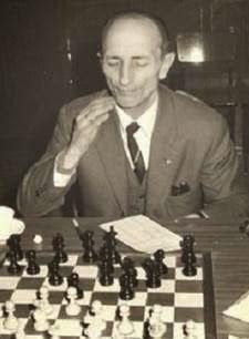 El ajedrecista Antonio Rico