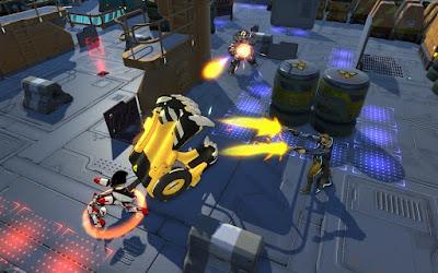 онлайновая пошаговая игра Atlas Reactor