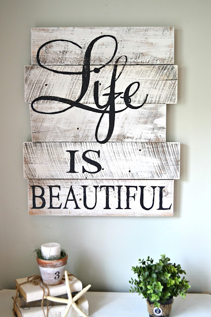 palette sign ideas - Wood Sign Design Ideas