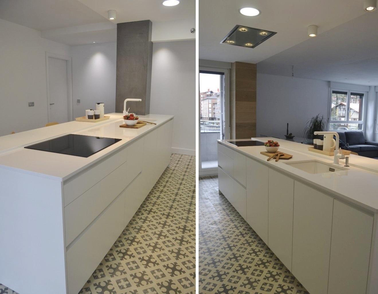 Suelos para cocinas blancas suelos para casas rsticas - Suelos para cocinas blancas ...