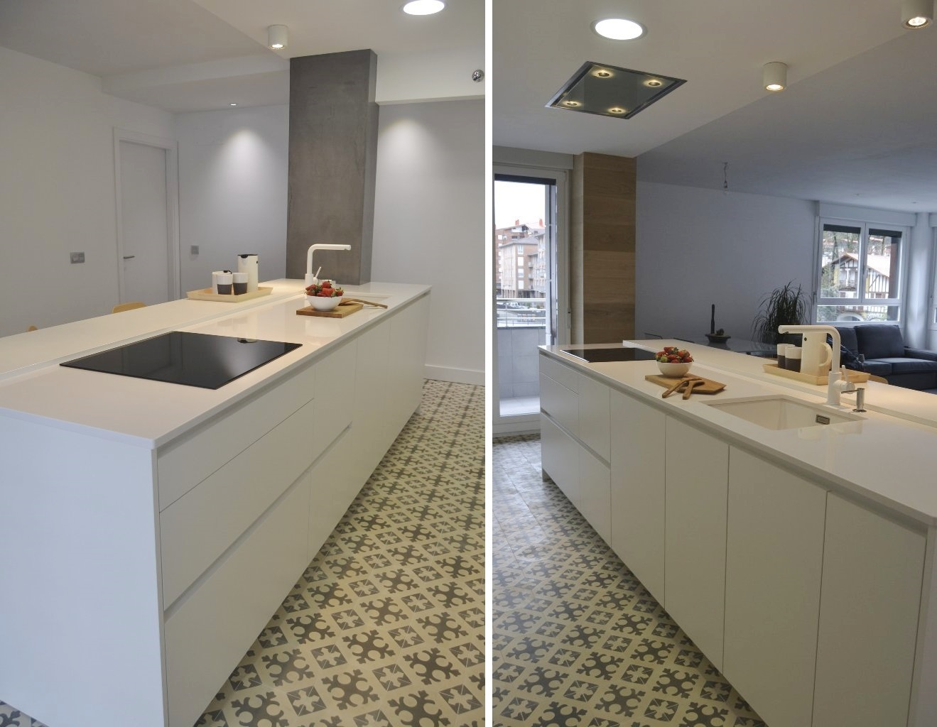 Dos modelos para una cocina en perfecta armon a cocinas - Cocinas blancas de diseno ...