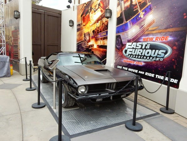 1971 Plymouth Barracuda picture car Furious 7