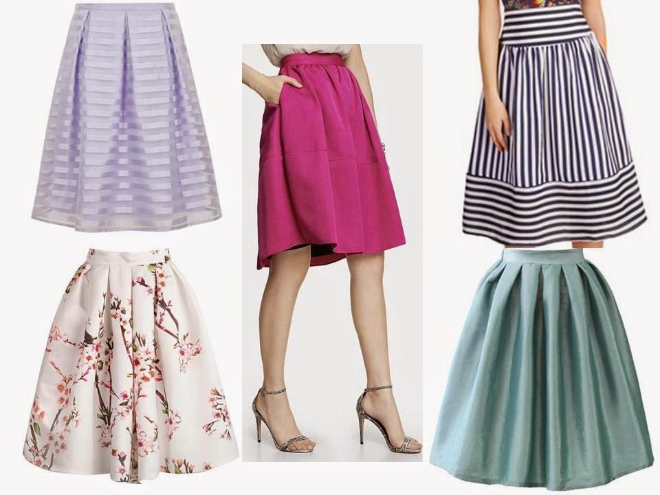 the decorina summer trends midi skirts