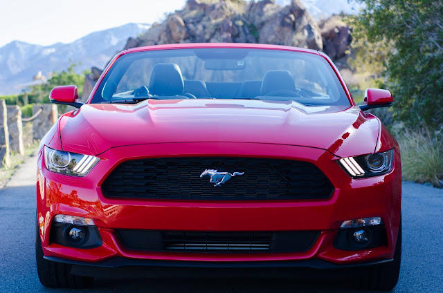 Front view of 2015 Ford Mustang Convertible