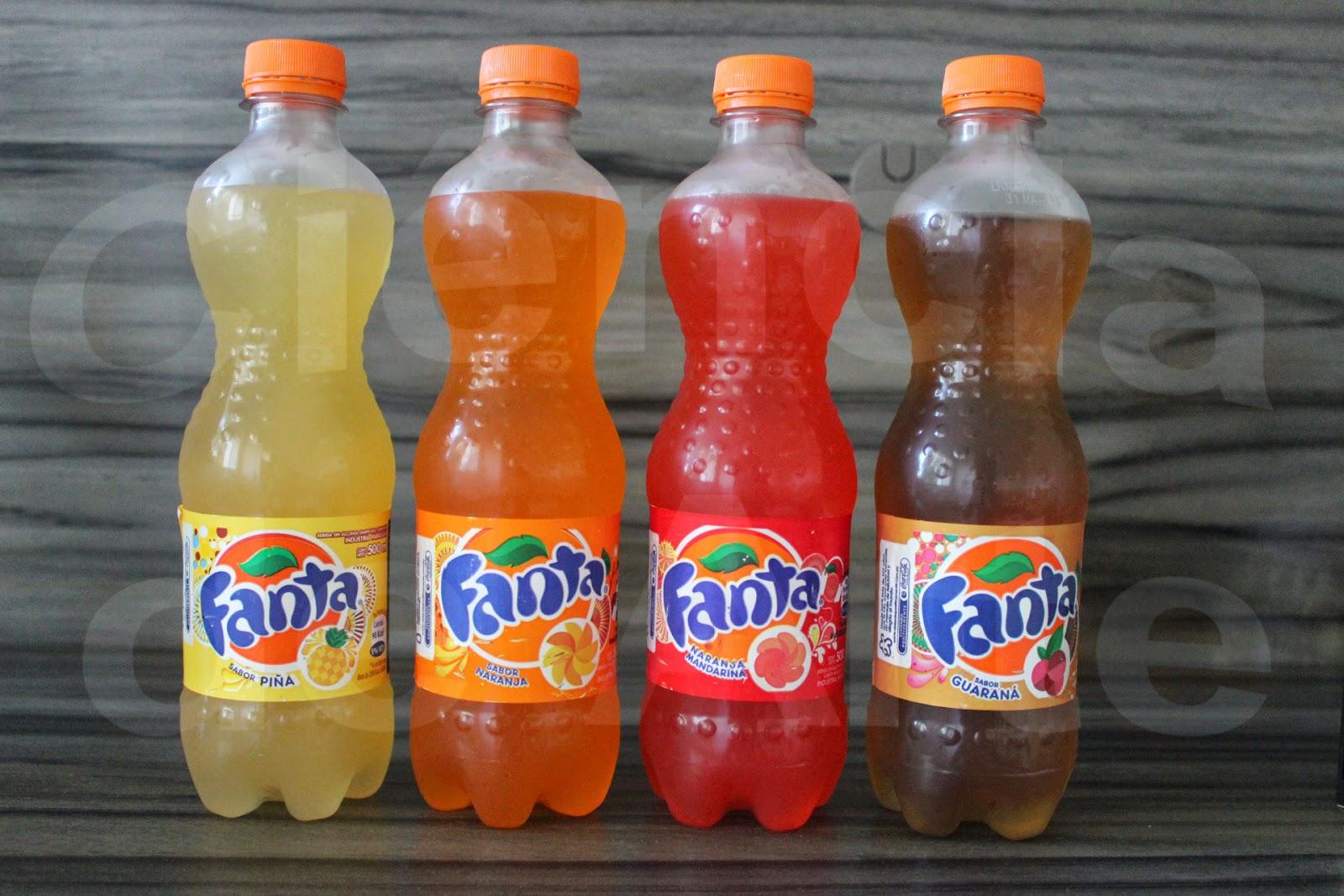 Quatro sabores de Fanta no Paraguai