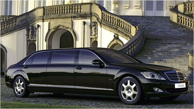 Mercedes-Benz S600 Maybach Guard Top Speed