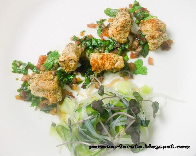 zdrowy obiad, ile czasu kurczaka w parowarze