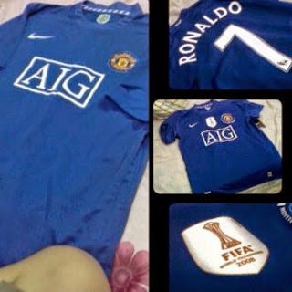 gambar baju bola Mu AIG terbaru, harga murah, jual online