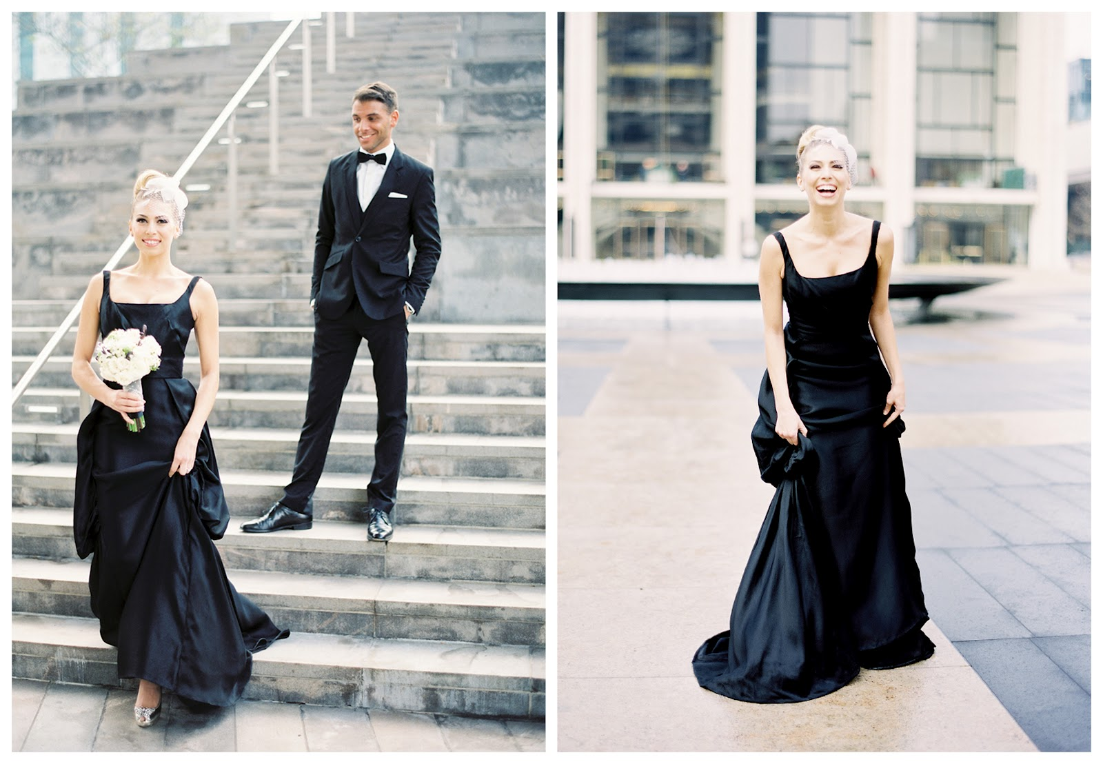 Beautiful black wedding dress wednesday 8 february 2012 ombrellifo Image collections