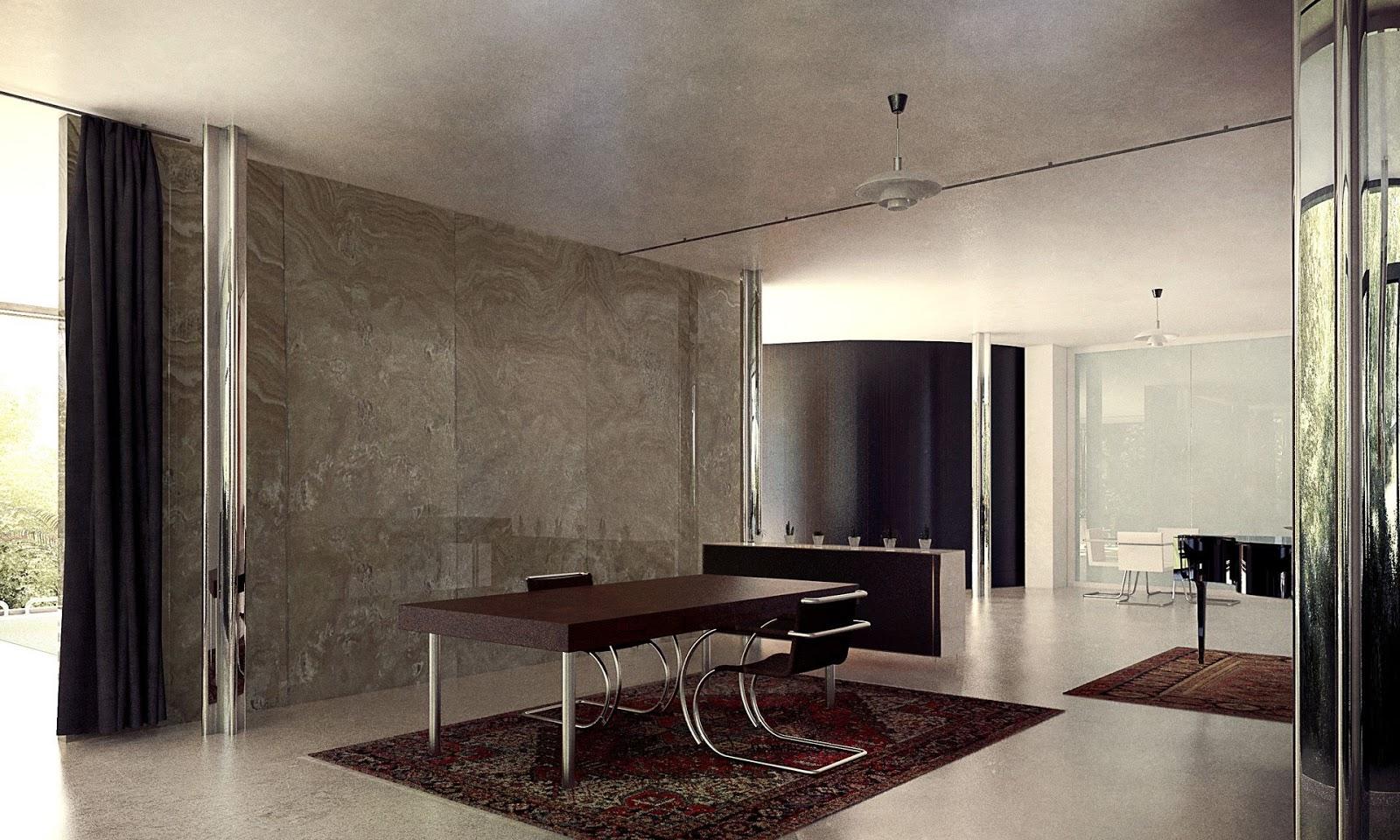 mies van der rohe a f a s i a. Black Bedroom Furniture Sets. Home Design Ideas