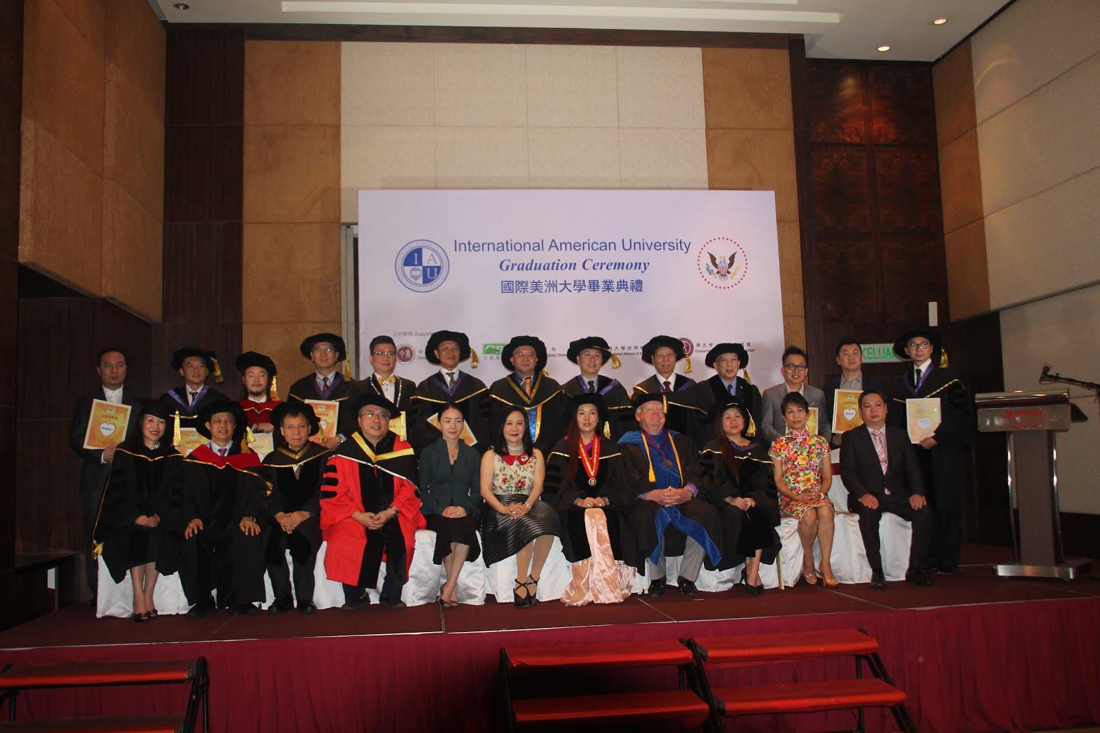 多名校友出席兄弟學校,IAU在吉隆坡畢業典禮