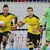 O Borussia Dortmund perdeu o 100%, mas Aubameyang segue voando