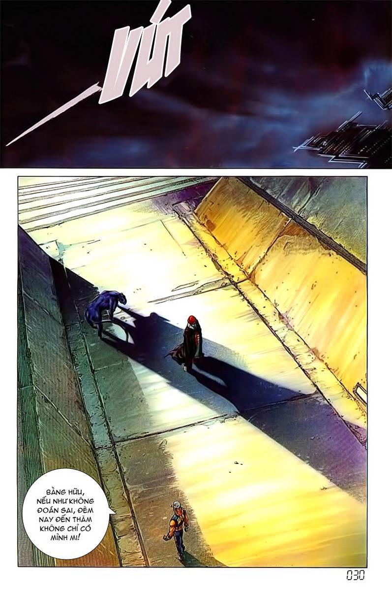 Cyber Weapon Z - Siêu Thần Z chap 3 - Trang 23