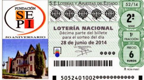 Lotería Nacional del sábado 28 de junio de 2014