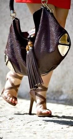 Dark Brown Leather Bag