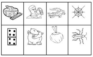 Bingo ilustrado silabas simples3