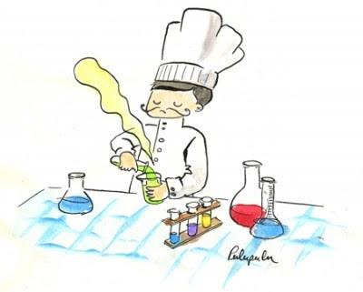 Manger cru produits chimiques dans l alimentation - Comment faire de la cuisine moleculaire ...