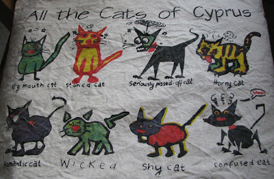 The cats of Cyprus