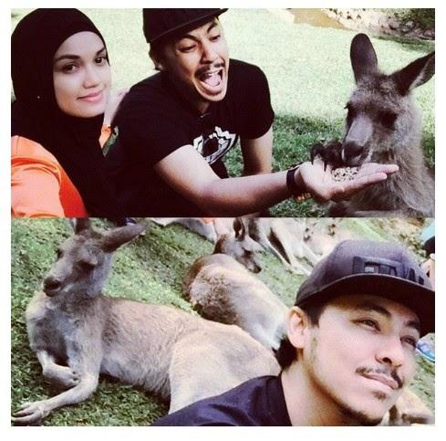 Samsul Yusof Puteri Sarah Rai Ulangtahun Perkahwinan Di Australia
