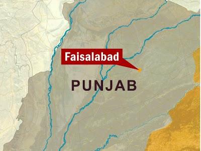 Faisalabad Google maps