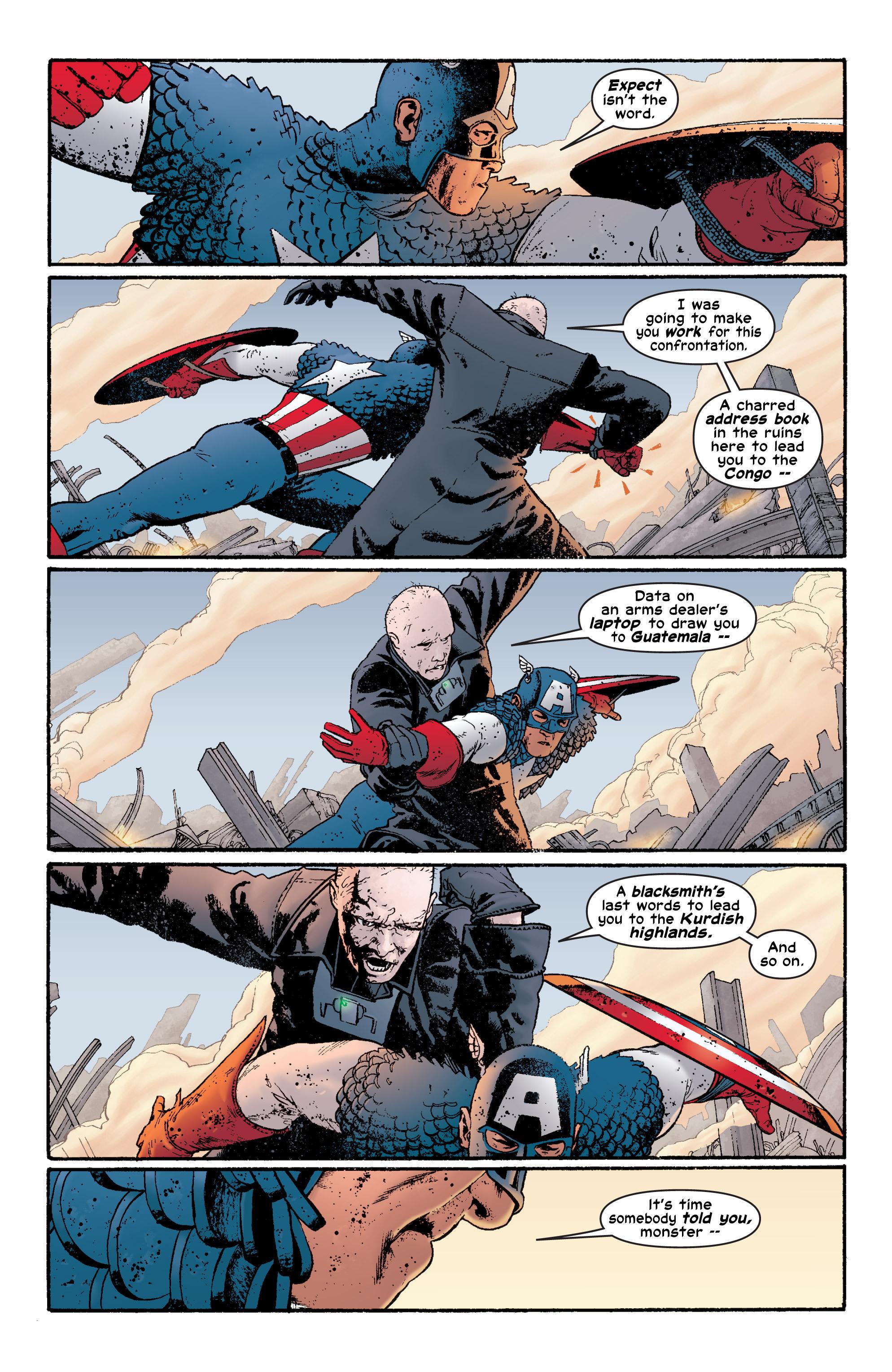 Captain America (2002) Issue #6 #7 - English 10