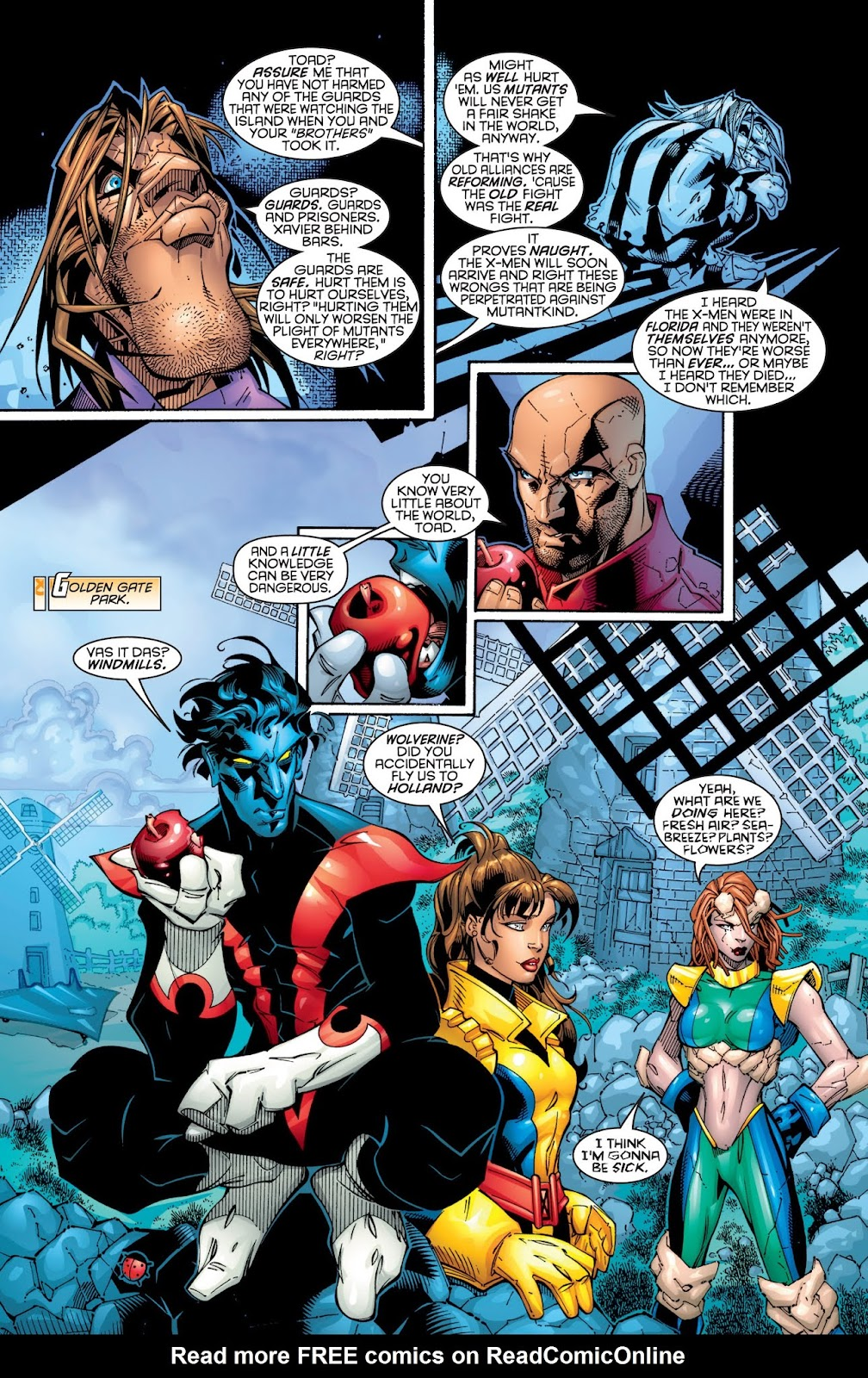 X-Men: The Hunt For Professor X issue 3 - Page 1