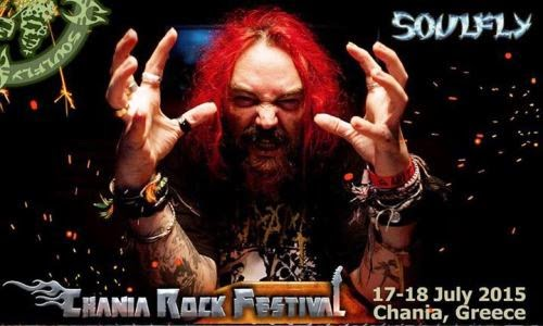 CHANIA ROCK FESTIVAL: Headliners οι SOULFLY