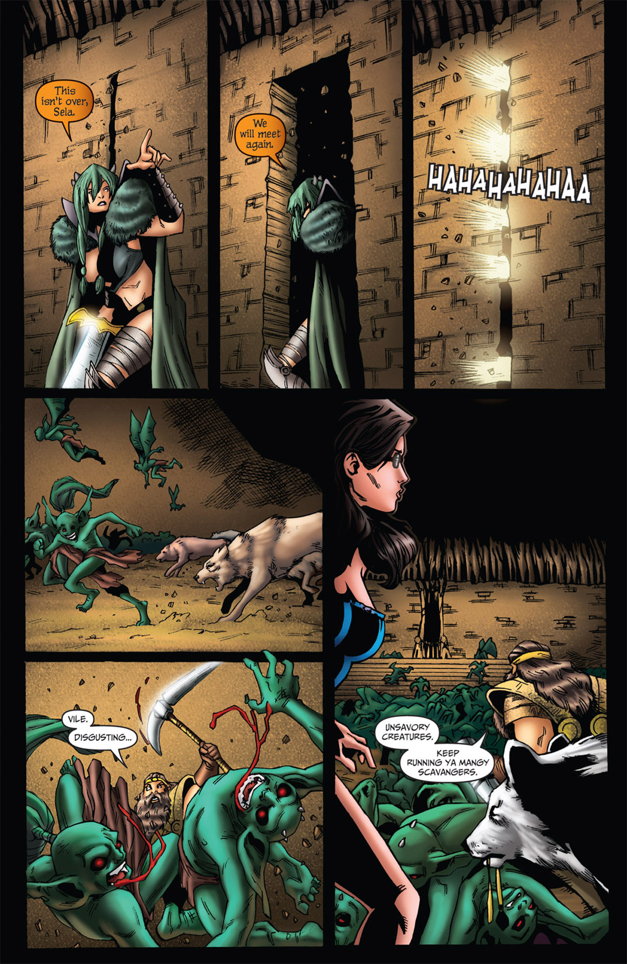 Grimm Fairy Tales (2005) Issue #56 #59 - English 11