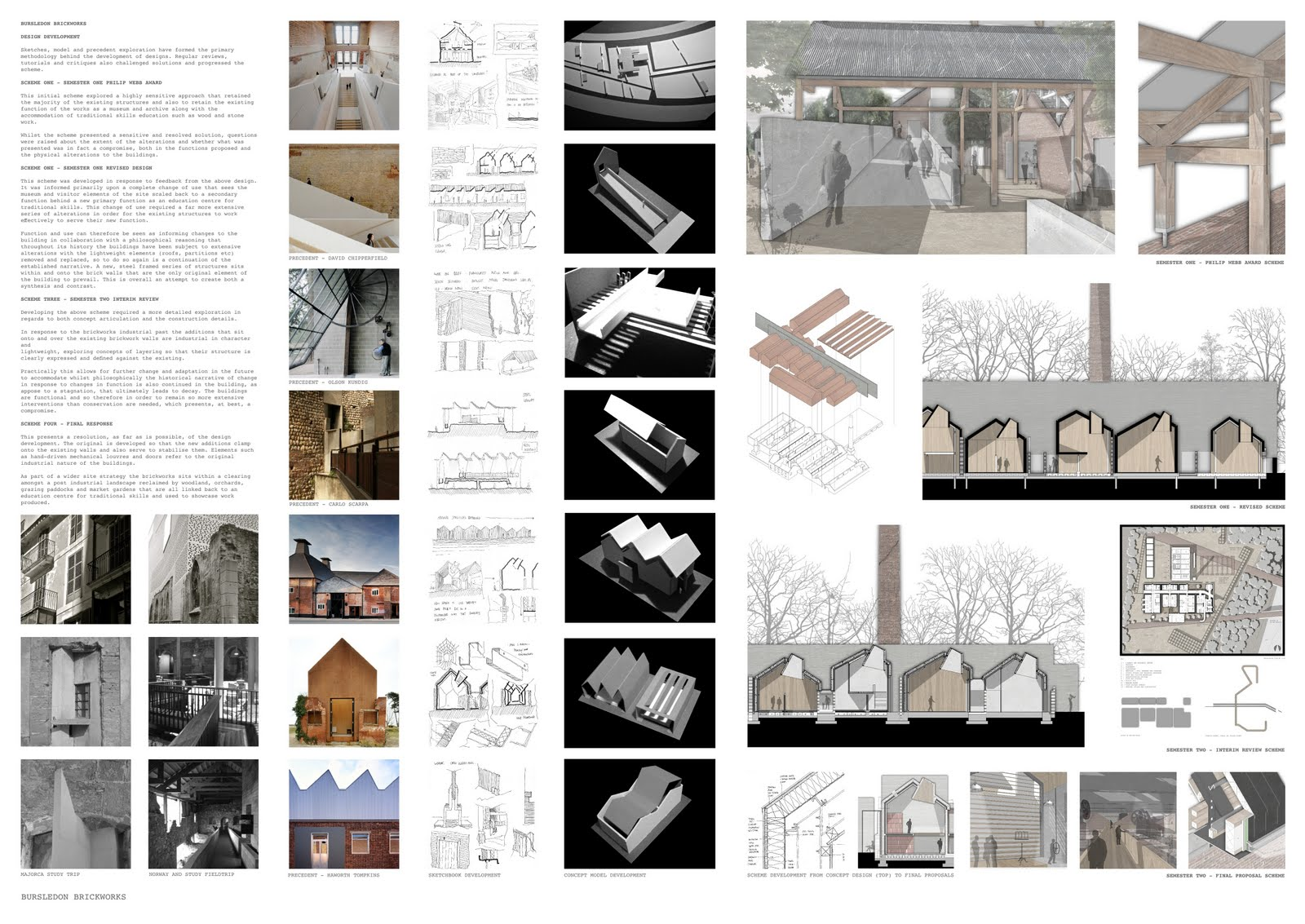 architectural conservation thesis