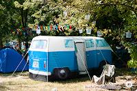 Campervan Tent en Sziget 2013