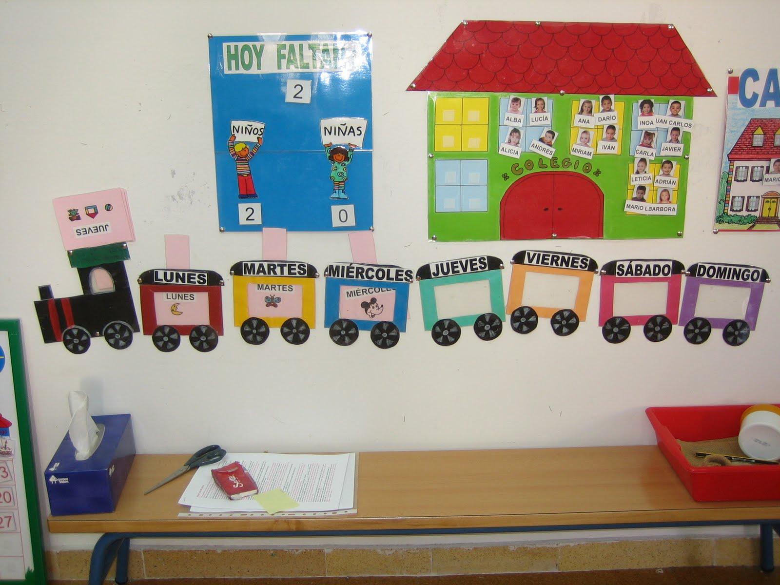 Proyectos infantil rutinas escolares for Decoracion aula infantil