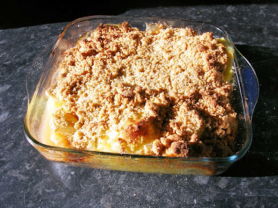 the fruit of the spirit healthy fruit crumble topping