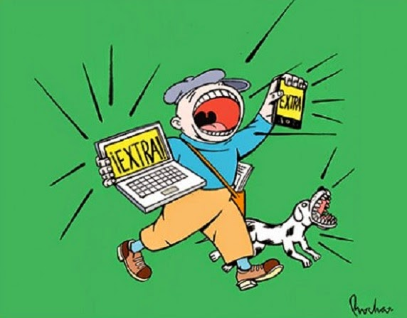 Caricatura de Periódicos