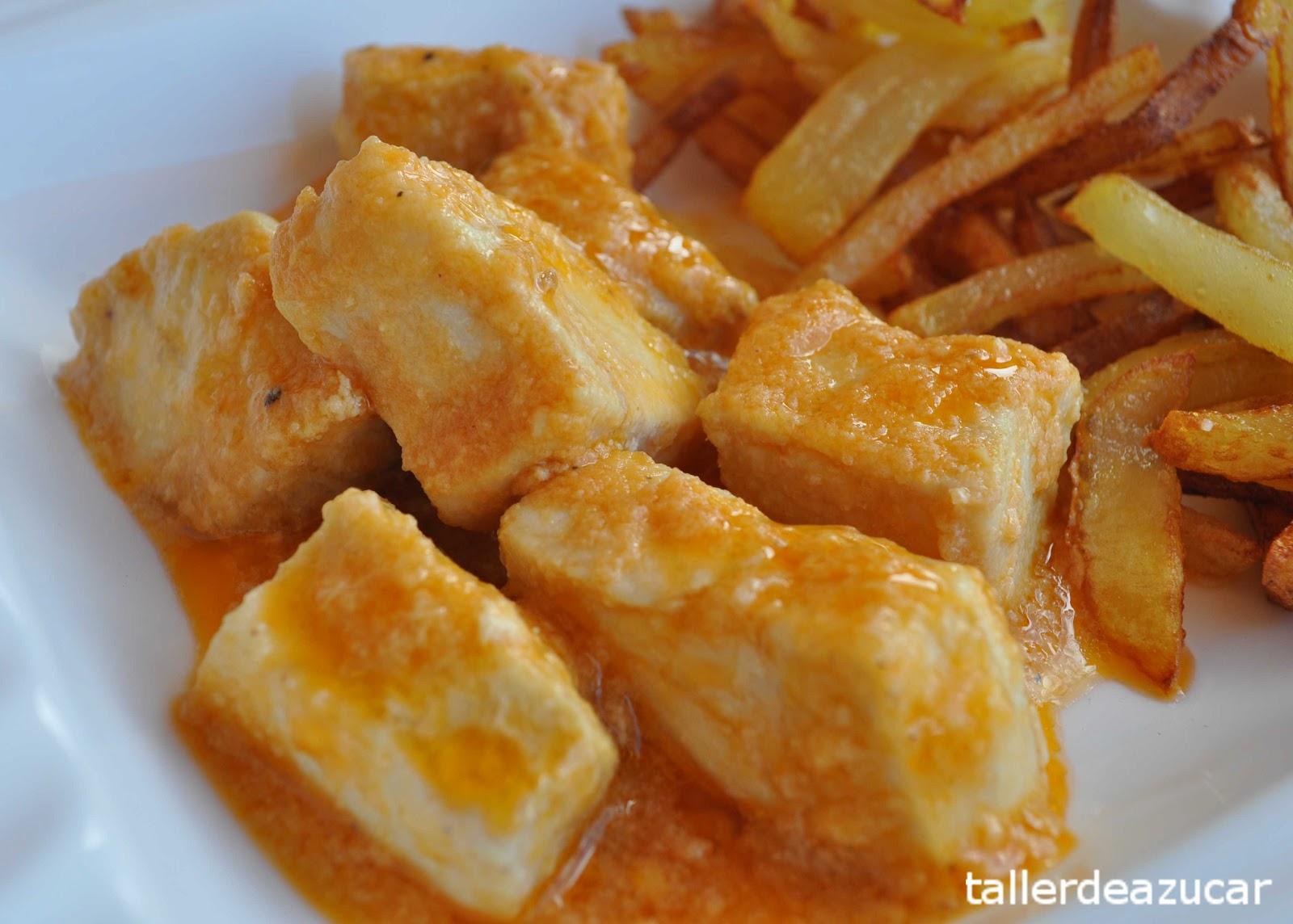 Taller de az car pez espada en salsa receta for Pez espada en salsa de almendras