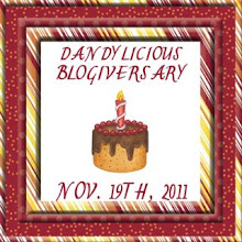 Dandy Licious Blogiversary