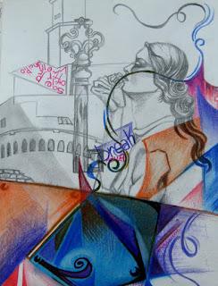 La mia arte sull'Arte (bisticcio di parole solo apparente) Impressioni-e-simboli