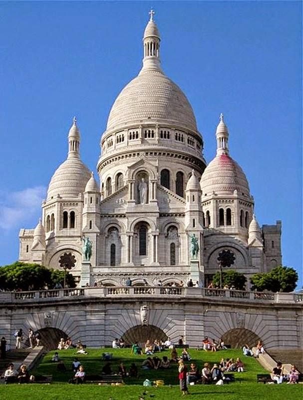 Basilique du Sacre-Coeur de Montmartre , Paris, France