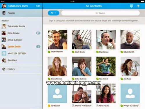 Descarga y realiza videollamadas gratis con Skype para el iPad