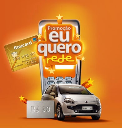 """Promoção """"Eu Quero Rede"""" - Itaú Unibanco S.A."""