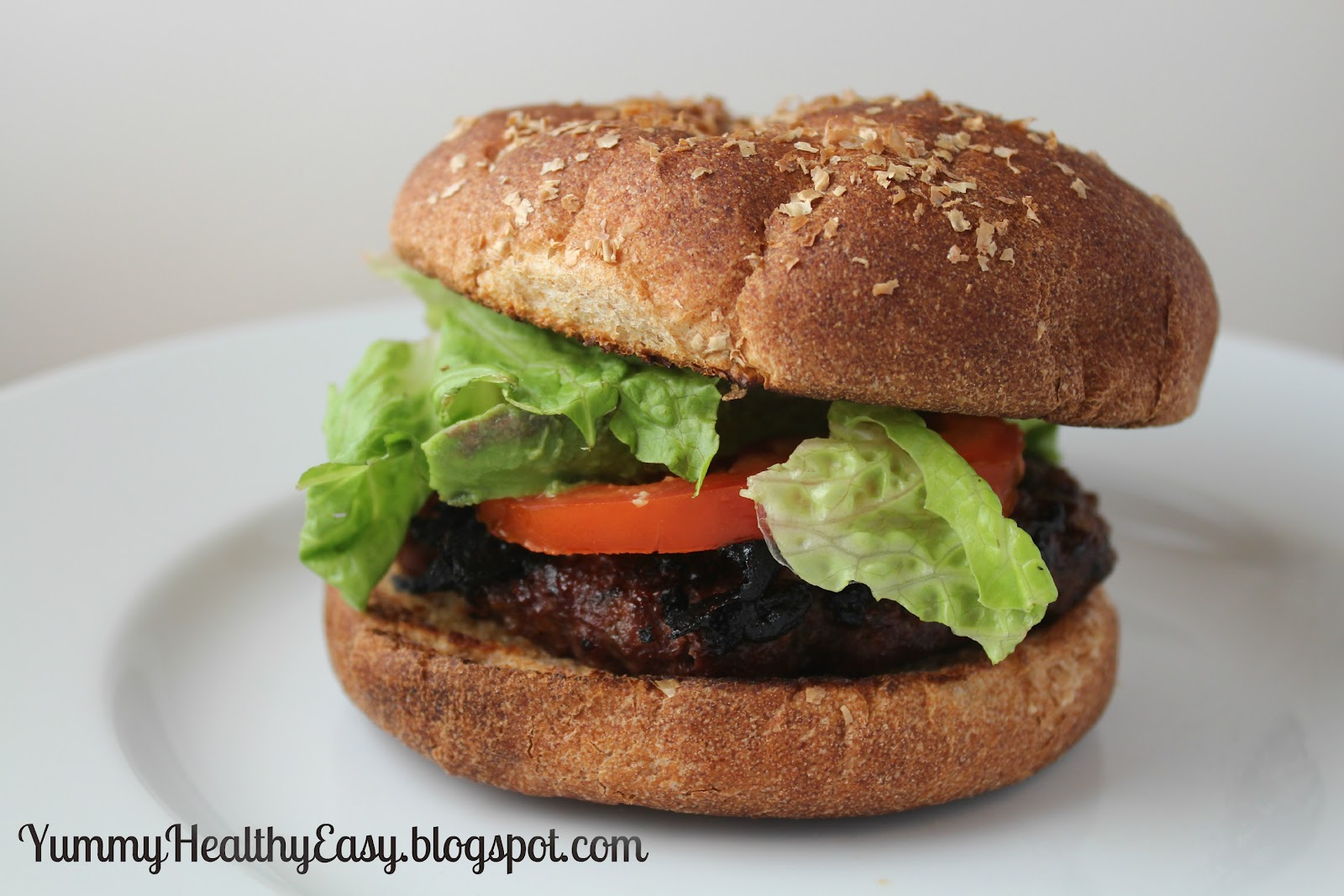 The Best Burger Recipe Ever!!! - Yummy Healthy Easy